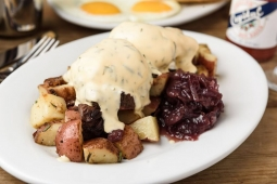 Steak Benedict with Bearnaise Sauce